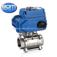 12v 24v 110v 22v 380v stainless steel npt thread electric valve