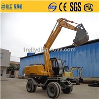 13t large Double Drive Excavator 85KW Rated power JG-130