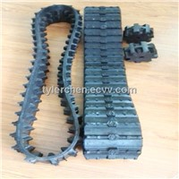 180mm*65mm robot Rubber track