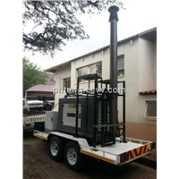18m Heavy Duty Pneumatic Telescopic Masts-non lockable