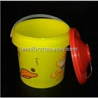 1kg Biscuit Packaging Bucket with Hot Transfer Printing. New Sale