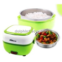 2014 Hot Goods -- stainless steel Electric lunch box and rice cooker machine -Easy carry
