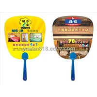 2014 Hot Selling Promotion PP Hand Fan