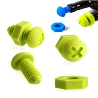 2014 hot sales silicone handle silicone kitchen tool set/kitchenware