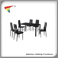 2014 hot seller dining sets , 1 table +6 chairs