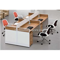 2.4M Four-seater Melamine Office Workstation 21F435