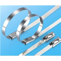 304/316 Stainless Steel Shipborn Cable Tie Size from Width 4mm to 16mm