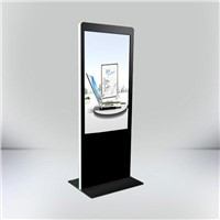 "46"" 55"" 82"" SAMSUNG / LG Floor Standing Touch Panel LED Advertising Media Player"