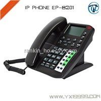 4 Lines IP Phone/VoIP Phone/WIFI VoIP Phone EP-8201
