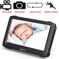 "5.8g/2.4G Wireless Baby Monitor 5"" HD Portable, Motion Detection, Loop Recording, up to 32g memory"