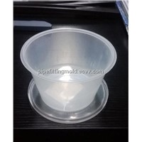 750ml plastic injection thin wall food container mould with lid