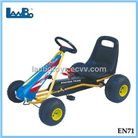 AAA quality durable kids pedal go kart