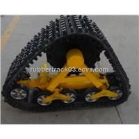 ATV/UTV rubber track system
