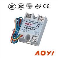 Adjustable 24V DC solid state relay DTS-40A-24V