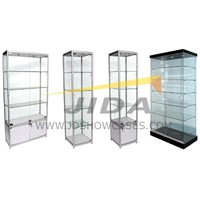 Aluminium Frame Tower Display cabinet