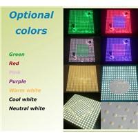 Bespoke sizes Rigid Aluminum RGB led matrix panel for advertising lightboxes