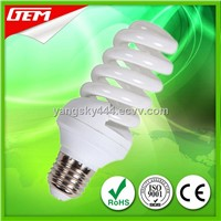 China Supplier Spiral Colored Energy Saving Bulb With CE ROHS