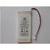 Custom Polymer Li-ion Battery Pack 3.7V 1300mAh -Un Approved (NDGR)