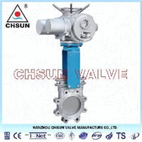 Electric Valve, Electric Gate Valve, Electric Knife Gate Valve