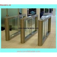 Electronic turnstile barrier & security swing gate turnstile with IC, ID card reader