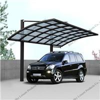 Elegant appearance aluminum cantilever carport for car parking