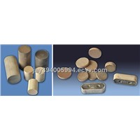 Exhaust Honeycomb Ceramic Substrate Catalyst for Vocs