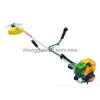 Farm tools shoulder type four stroke 31cc engine grass trimmer