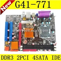 G41 Motherboard with Socket 771, Support Intel Xeon Quad-Core, Dual-Core CPU