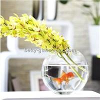 Glass Fishbowl Simple Aquarium Decoartive Carft