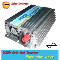 Grid tied inverter 200W-1KW On-grid Solar Power Inverter with Pure Sinewave