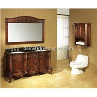 HOT SELL big mirrow bathroom wash cabinet