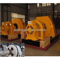 High Efficiency horizontal type generator/generator for Hydroelectric Power Plant