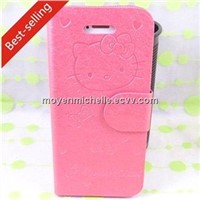 High Quality and Lovely Flip Cover for iPhone4/ 5 (MY-CS04)