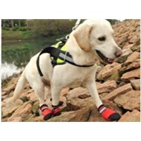High quality waterproof hiking dog boots