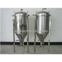Home brewing fermentor