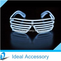 Hot Selling Popular Window-shade Style EL Wire Grow Eyewear Glasses Pretty Cool In Parties