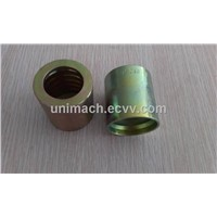 Hydraulic Ferrule with white Zinc Plat