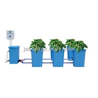 Hydroponic bucket system with Controller and module