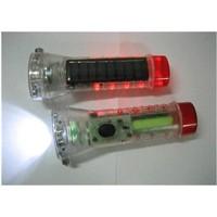 JA-183 Multi-function solar led flashlight