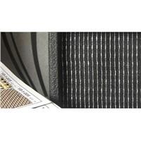 KLDguitar speaker grill fabric black/whit/sliver of guitar and bass amp cabinet