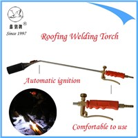 LPG welding gun, blow torch with automatic ignition