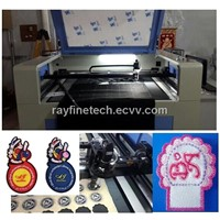 Logo lable trademark CCD laser cutting machine
