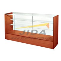 Low Cost Wood Glass Display Counter