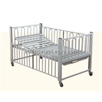 Manual Single-rocker baby bed