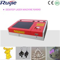 Mini and Desktop Laser Cutting Machine for Acrylic/Organic Glass/Stamp RJ4040