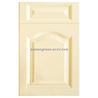 Modern style pvc molded kitchen cabinet door