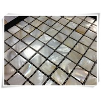 Mother of pearl shell mosaic AXB006