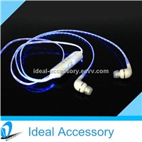 New Design Led Flashing Headphone Earbuds For listening Music