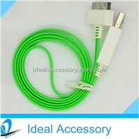 New Hot Visible LED Light USB Charger Data Sync Cable For Apple iPhone,Samsung,HTC etc