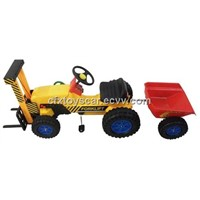 New Kid Pedal Car with Trailer CFX-416